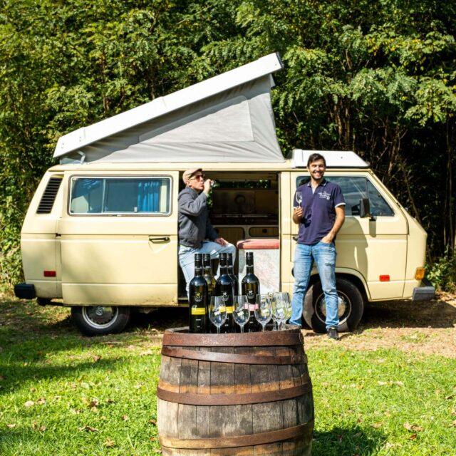 camper wine tour slovenia